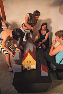 Photo of Children's corner - building a medieval house