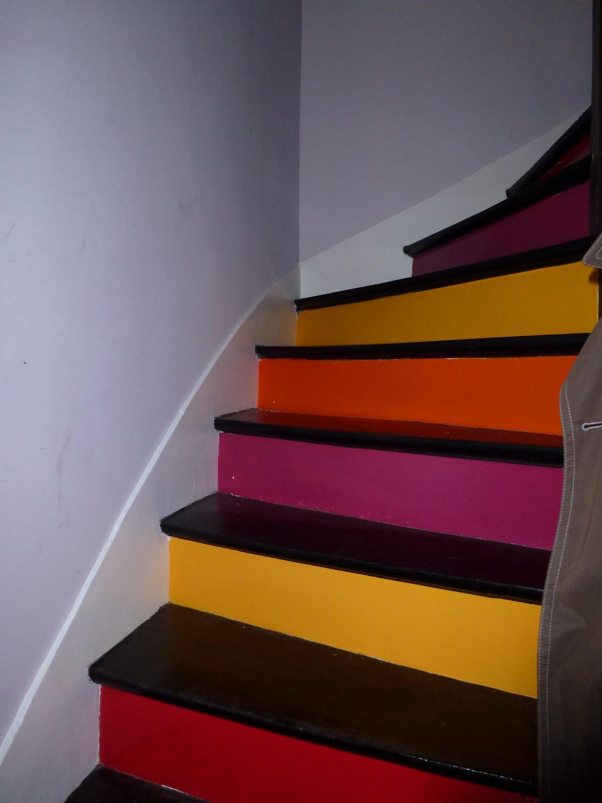 Ma d co munich et ailleurs ao t 2011 for Deco cage escalier interieur