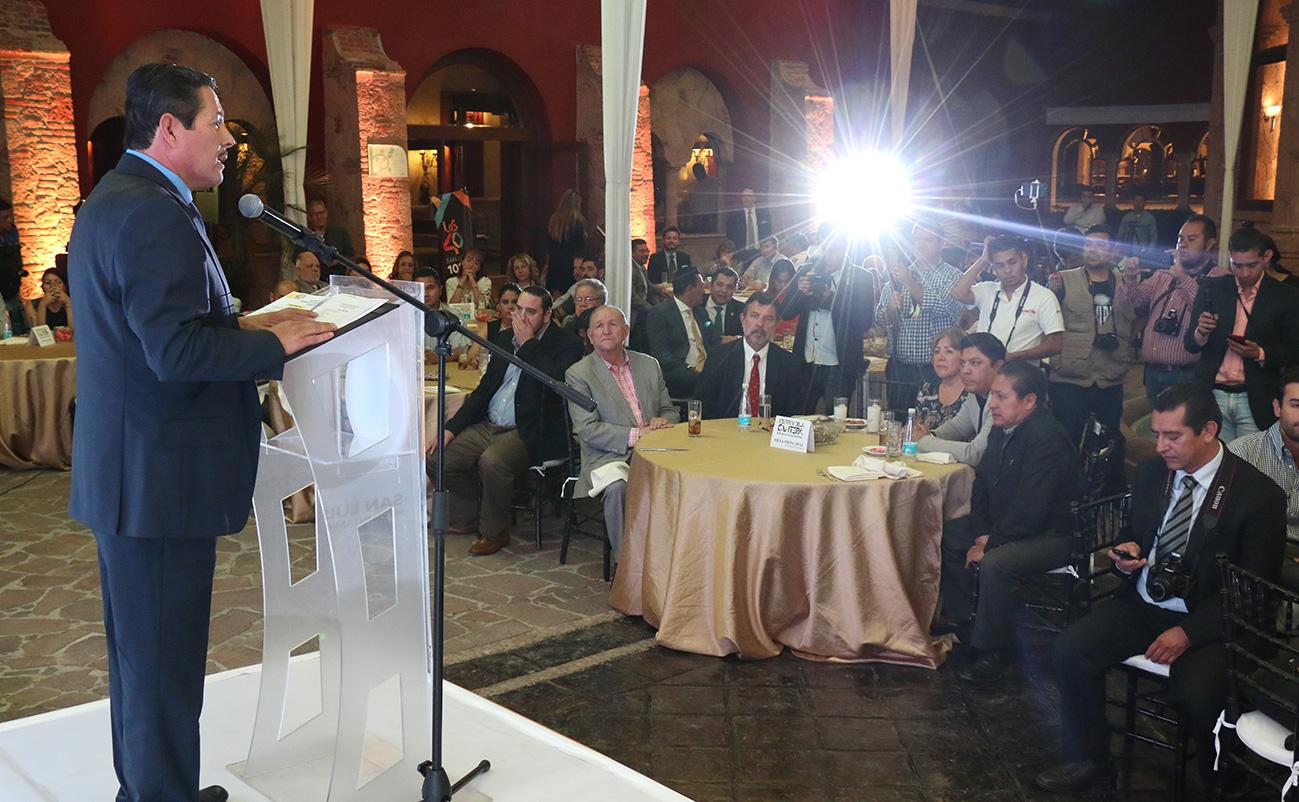 RICARDO GALLARDO PRESENTA SEGUNDA EDICIÓN DEL FESTIVAL DE LA CANTERA