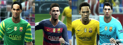 PES 2013 New Kits FC Barcelona 2015/16 with FIFA Club World Cup Badge by APP2013