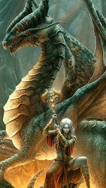 Rồng và cô gái
