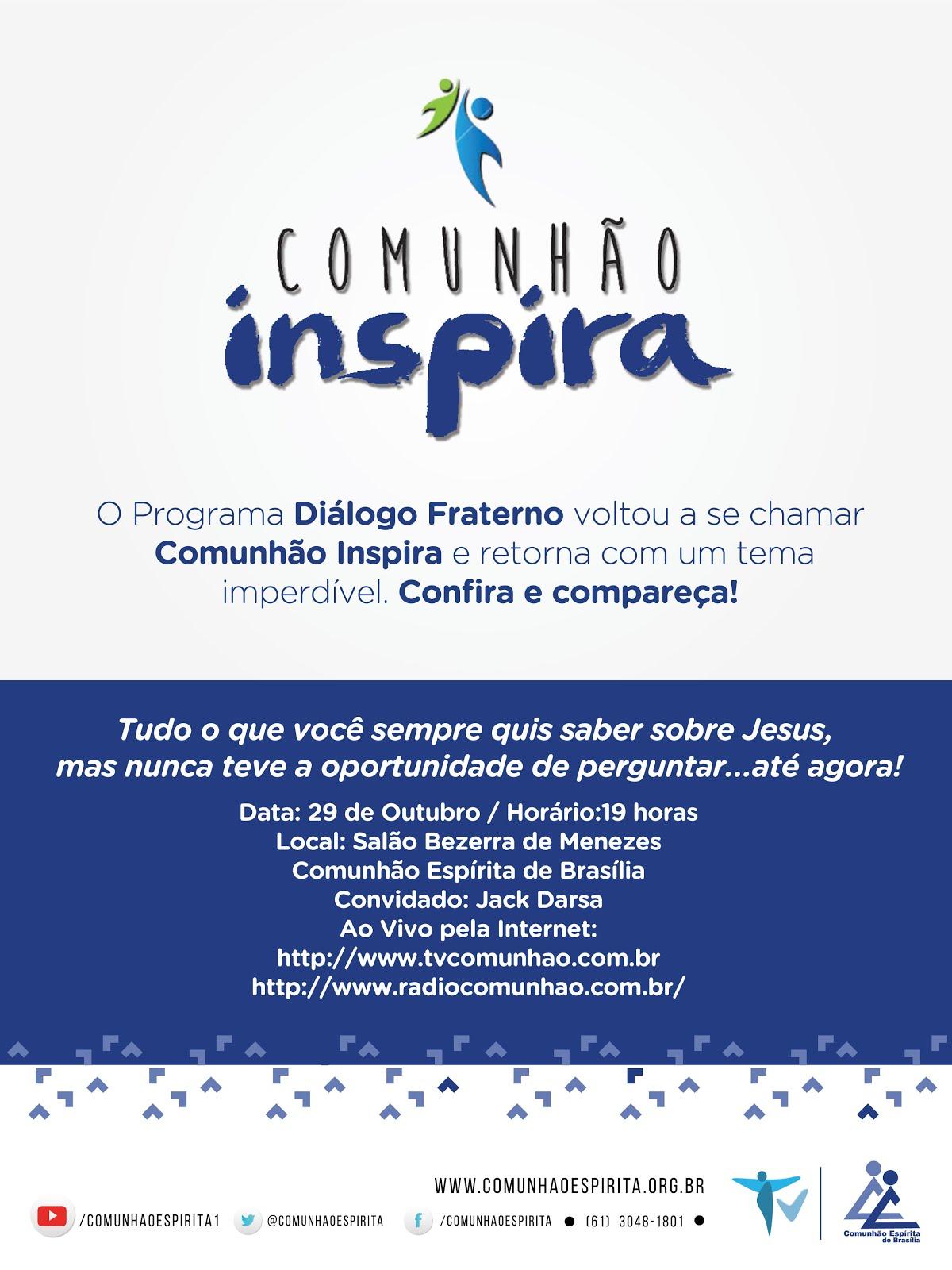 Comunhão Inspira - Outubro