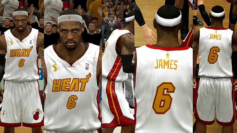 Miami heat nba 2k14 jersey patch