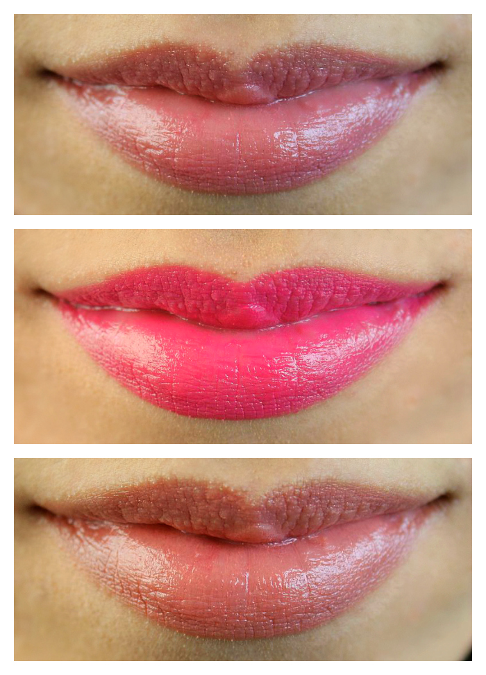 NYC twistable lip color swatches