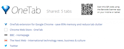 Convert All Chrome Tab into One Tab and Save Ram Memory Usage
