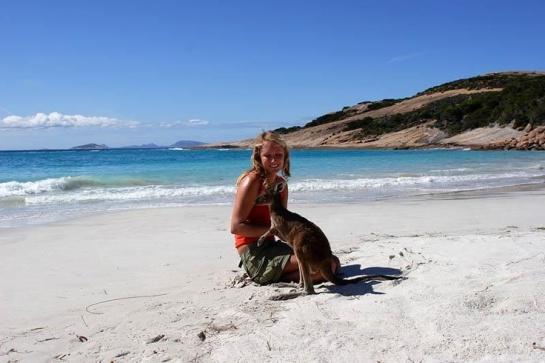 Lucky Bay (Australia).