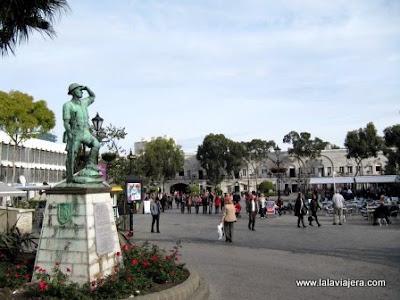 Monumento Soldados Casemates Square Gibraltar