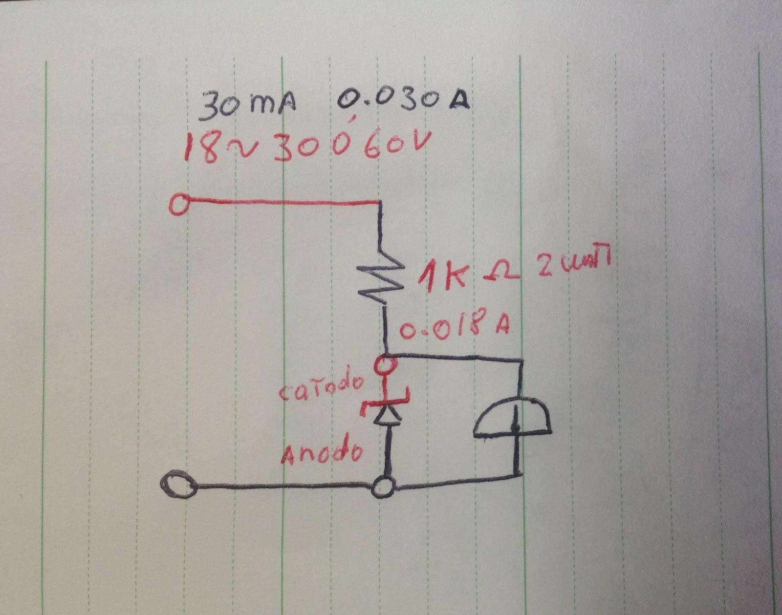 Circuito Zener : Mis proyectos electronico: como saver el voltaje de los diodos zener.