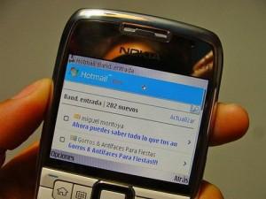 descargar hotmail para celular