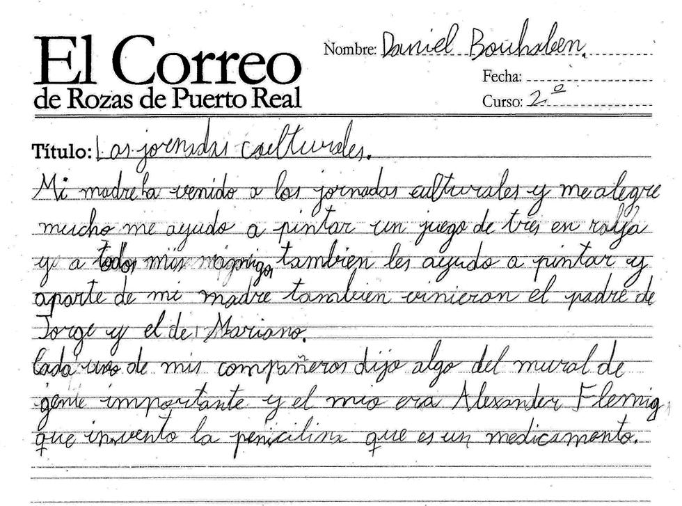 El Correo De Rozas De Puerto Real Las Jornadas Culturales