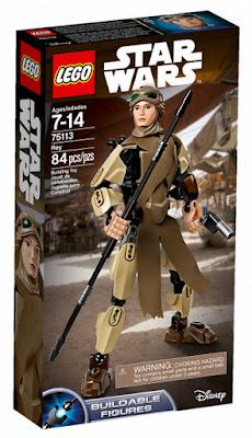 TOYS : JUGUETES - LEGO Star Wars VII  75113 Rey : Figura | Buildable Figures  El Despertar de la Fuerza | The Force Awakens   Producto Oficial 2016 | Disney | Nueva Película  Piezas: 84 | Edad: 7-14 años  Comprar en Amazon España & buy Amazon USA