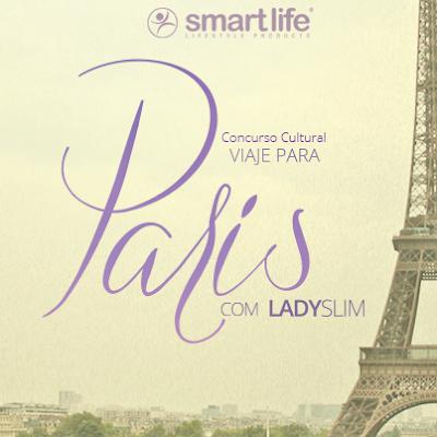Concurso Cultural Viaje para Paris Com Ladyslim