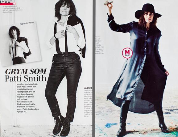 Paulina: Patti Smith inspired fashion for Mappies  Paulina: Patti ...