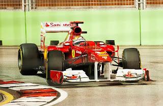 Gambar Mobil Balap F1 Ferrari 08