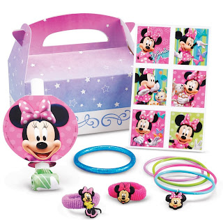 Disney Minnie Mouse Bow-tique Party Favor Box