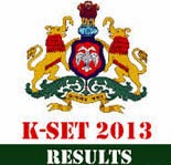 Karnataka State Eligibility Test Exam Results 2013, Check your KSET 2013 exam results at kset.uni-mysore.ac.in