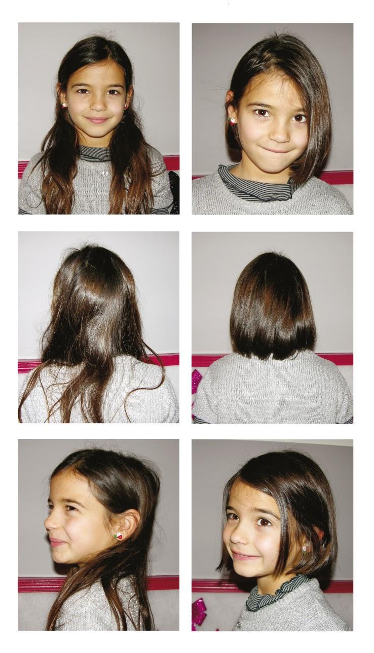 Avant / après avec Camille, coupe réalisée par Eddy,  coiffeur visagiste à Montpellier au Studio 54.