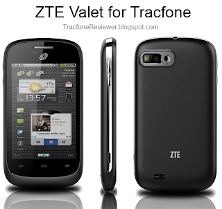 Tracfone zte valet review android