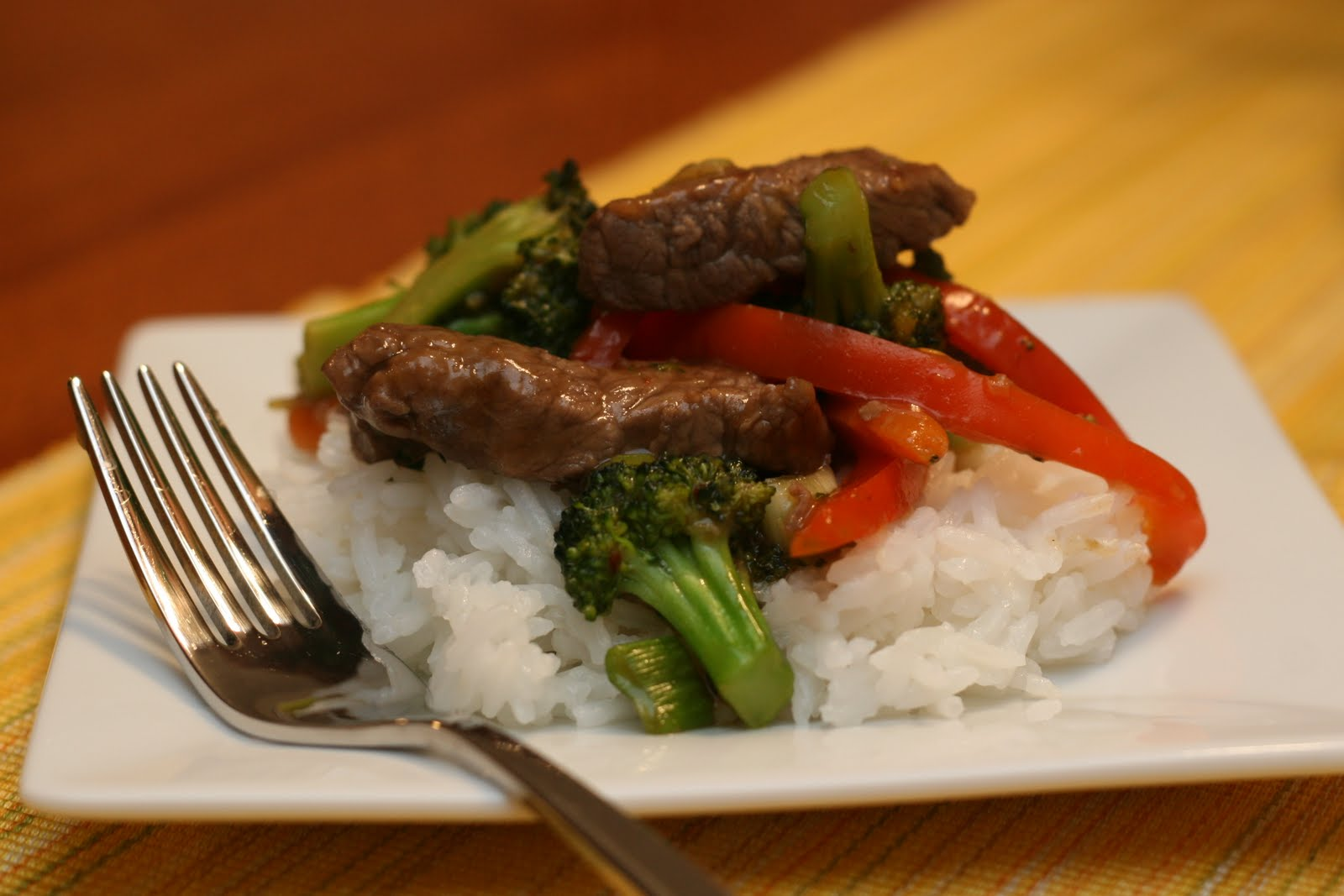 Ginger Beef Stir Fry Leave a comment