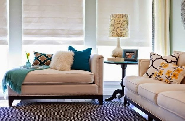 подушки в интерьере фото