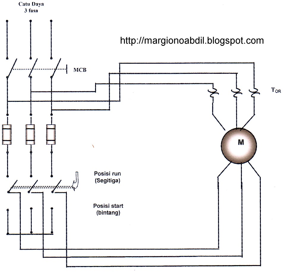 Mr.G: pengasutan motor 3 fasa star/delta