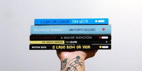 Cinco livros para ler e relaxar