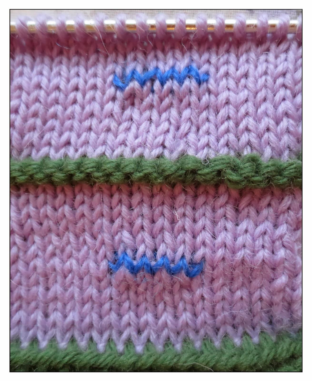 Knitting Stitches Buttonholes : TECHknitting