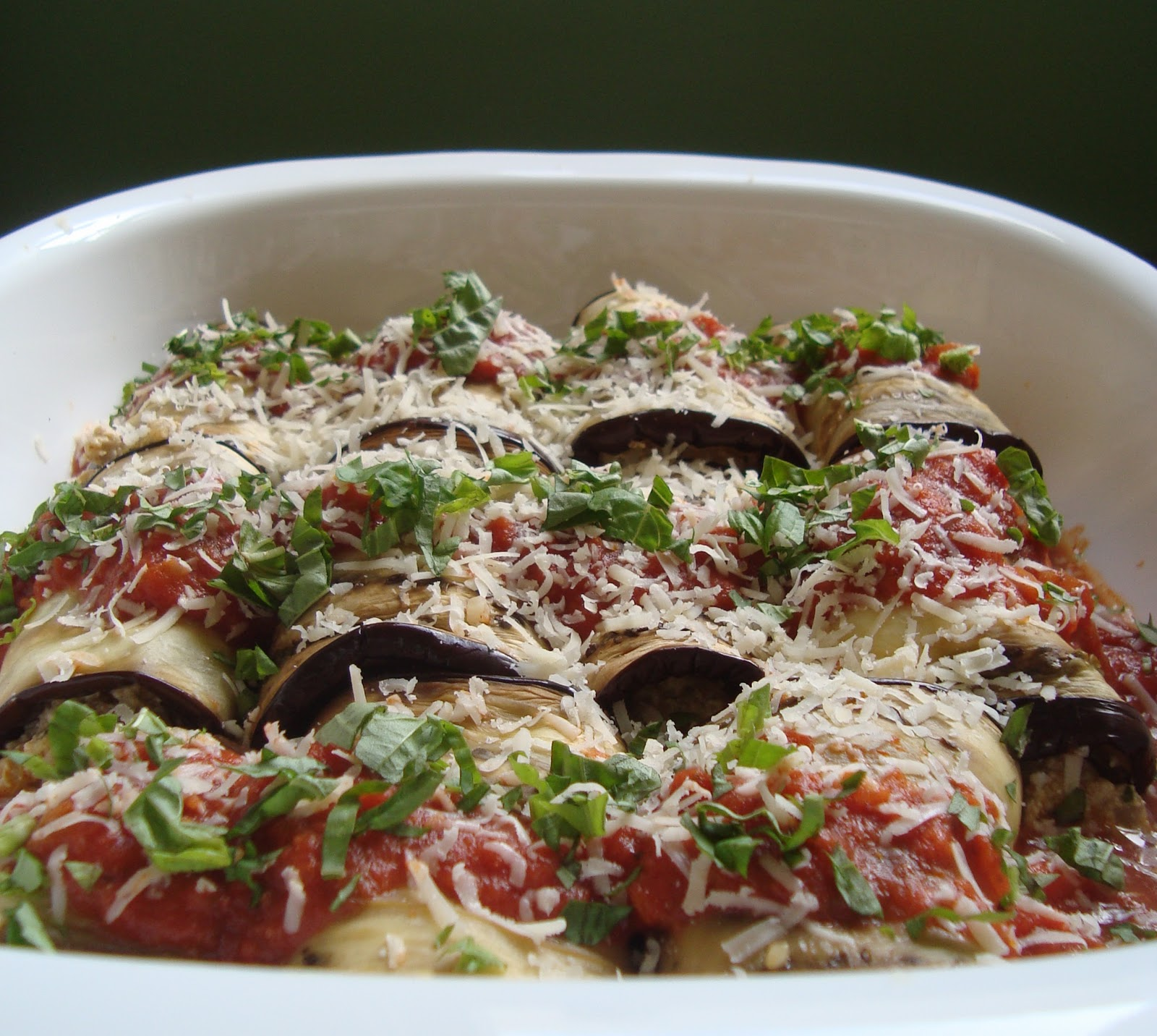 Cooking w Claudine: Eggplant Cannelloni