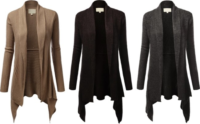 The Daily Find Jtomson Womens Asymmetrical Cardigan