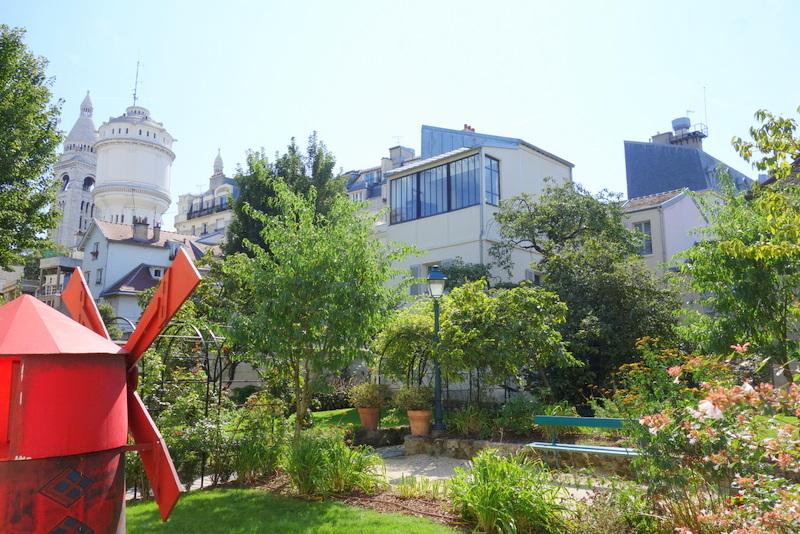Paris mus e de montmartre et les jardins renoir la - Les jardins de montmartre ...