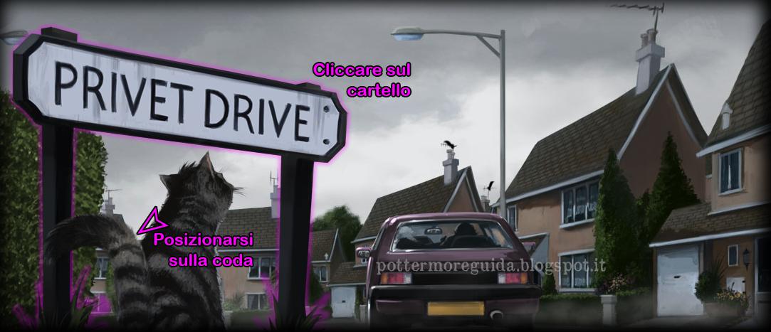 Libro 1, Capitolo 1, Momento 1 - Numero 4, Privet Drive I