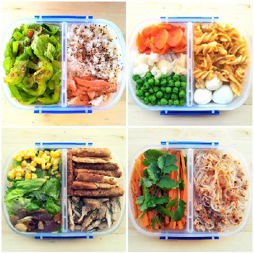 Một số món ăn cho thưc đơn giảm cân 1000 calo