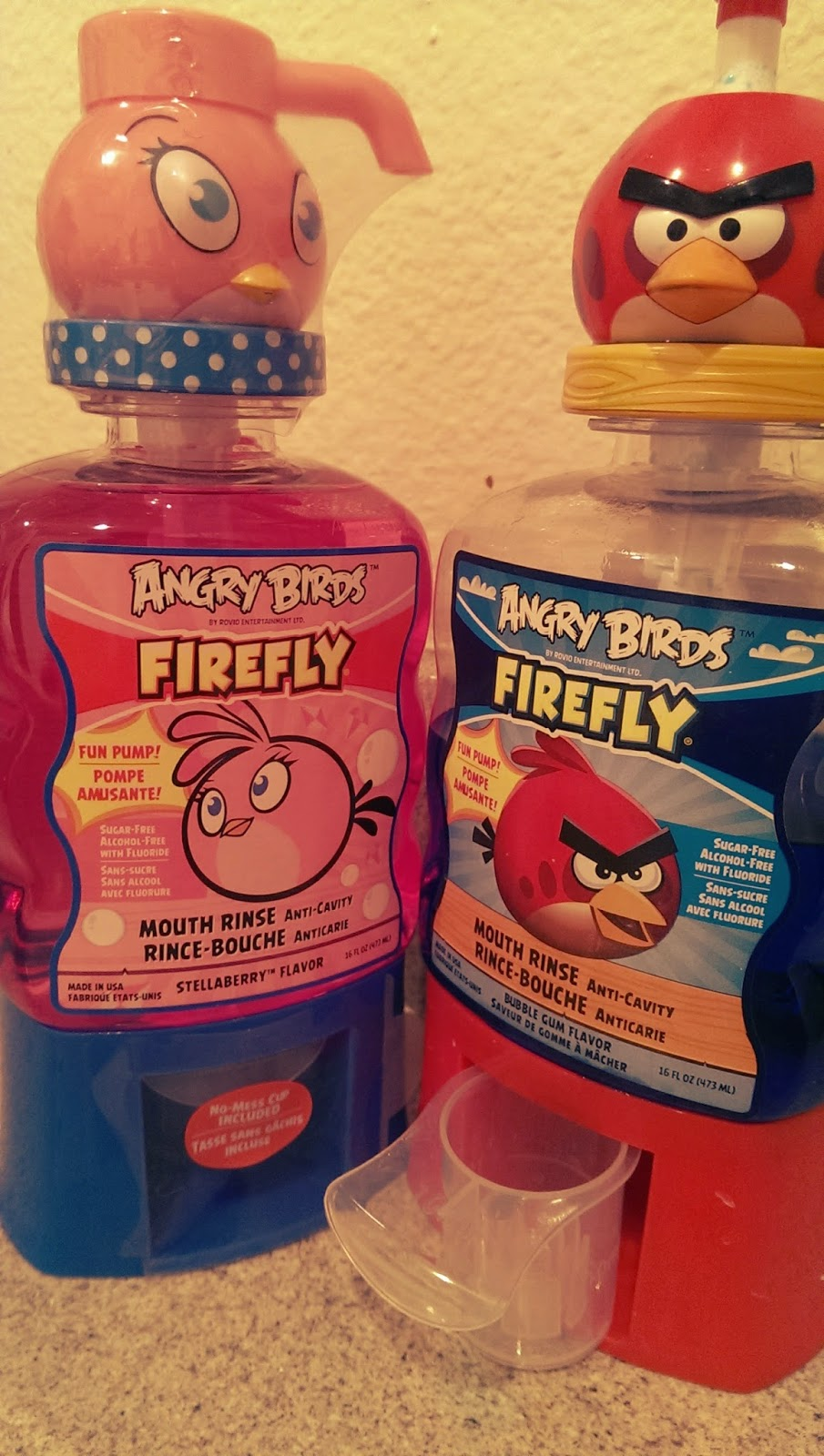 Kids%2BMouthwash New Firefly Angry Birds Anti-Cavity Mouth Rinse Review - Best Anticavity Mouthwash