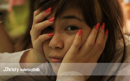 CHRISTY CHERRY BELLE - Foto Profil Christy Chibi