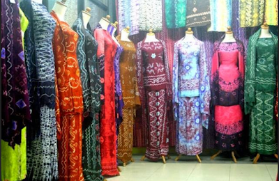 model baju batik sasirangan kalimantan