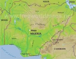 what are some physical features of nigeria