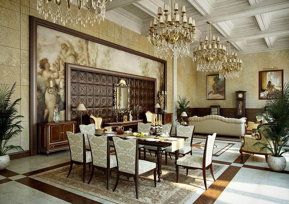 Stylish palace hall furniture sets