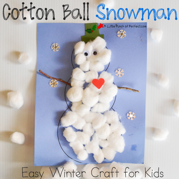 Snowman Craft Ideas For Kids Part - 21: More Snowman Crafts By The Kid Craft Stars: