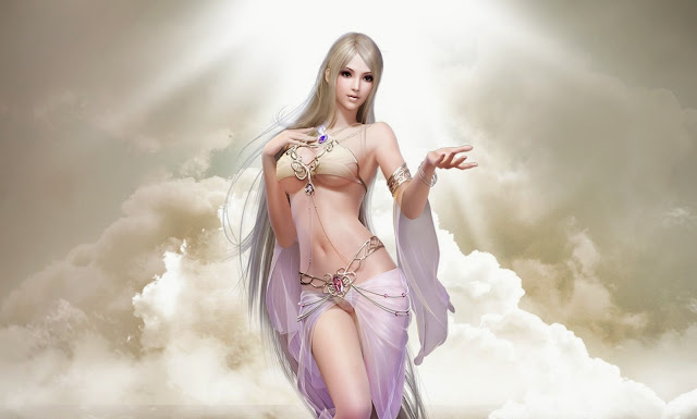 2837-Beautiful Fantasy Girl HD Wallpaperz