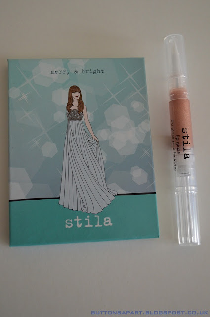 a picture of stila merry & bright palette