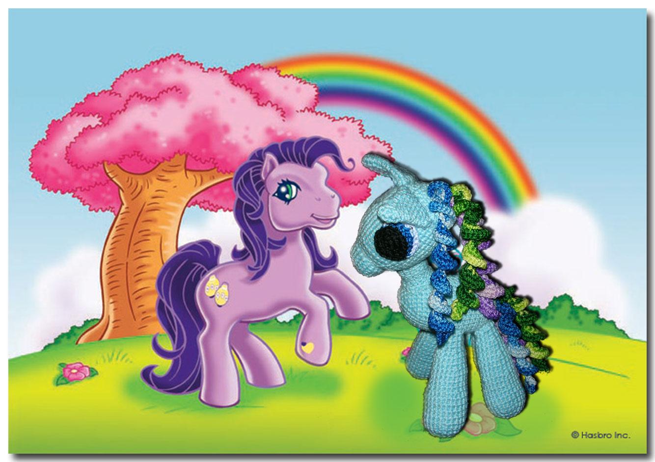Pequeno Pony Amigurumi Patron : De todo un poco y mas...: AMIGURUMI