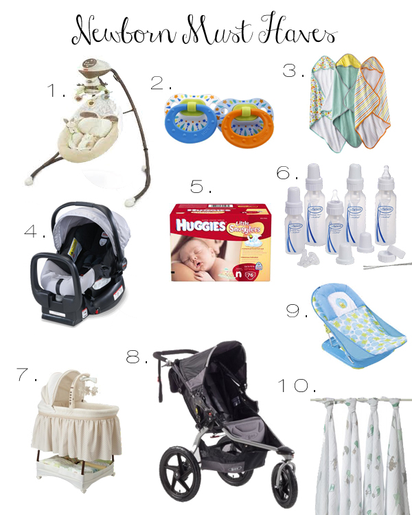 12c71a1c6 Dainty and Decadent  My Newborn Must Haves