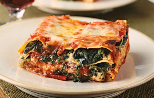 Glorious Food For U: Vegetable Lasagna