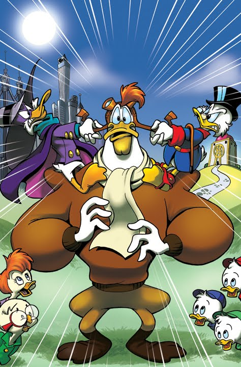 Boom! Comic Studio Ends 'Ducktales' and 'Darkwing Duck' Comics With a Crossover