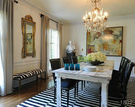 The Happy House Manifesto: Color Combo: Black & White