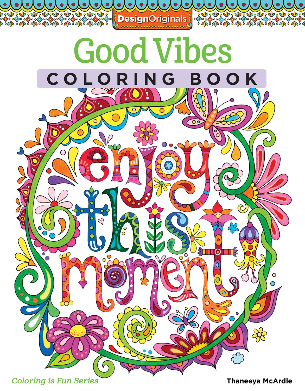 Good Vibes Adult Coloring Book From Amazon