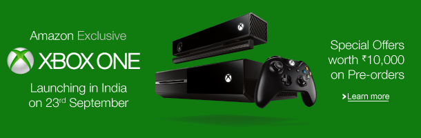 Microsoft's Xbox One Pre-Order Sale At Amazon, Also Read Reviews