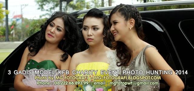 3 Gadis Model - KFB CHARITY EVENT PHOTO HUNTING 2014 (2) by. MG Foto - Fotografer Banyumas, Fotografer Purwokerto || MG Fotografi ( Fotografer Purwokerto/ Fotografer Banyumas ) - 3 Gadis Model pada KFB Charity Event Photo Hunting 2014 - 23 Februari 2014 yang lalu itu, saya sendiri lupa siapa nama mereka :D - Pokoknya mereka bertiga cantik-cantik dan fotogenik, itu saja. Lainnya tidak penting, eh tapi Ndilalah ya lupa tanya nama mereka, walhasil ... Namanya : Unknown Girl :D - pokoknya cantik-cantik deh mereka, foto-foto ini kami ambil saat mereka baru saja turun dari mobil yang mengantar mereka ke Andang Pangrenan sebuah Taman Kota di Wilayah Purwokerto, Banyumas - Jawa Tengah, Indonesia.