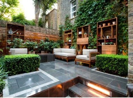Jardines modernos - Muebles de jardin modernos ...