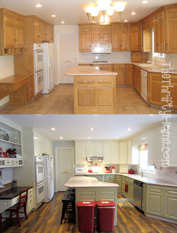 The Thrifty Home My Kitchen Great Room Makeover